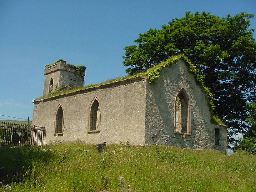 Old Church, Straid