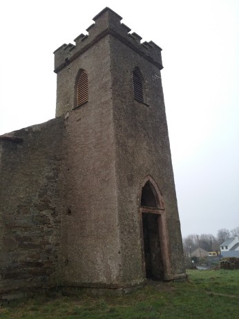 Straid Church, first phase completed, January 2017