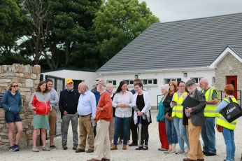 9. History tour discussing the foundation of the local GAA club